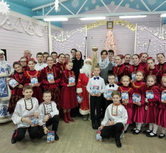 Рождественский праздник в обители на Селигере.