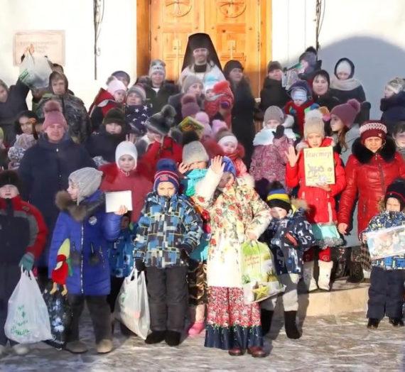 В Ново-Тихвинском монастыре Екатеринбурга завершилась благотворительная акция «Подарите детям праздник».