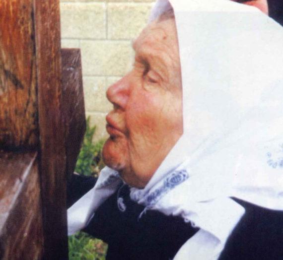 День памяти блаженной старицы схимонахини Марии (Матукасовой).