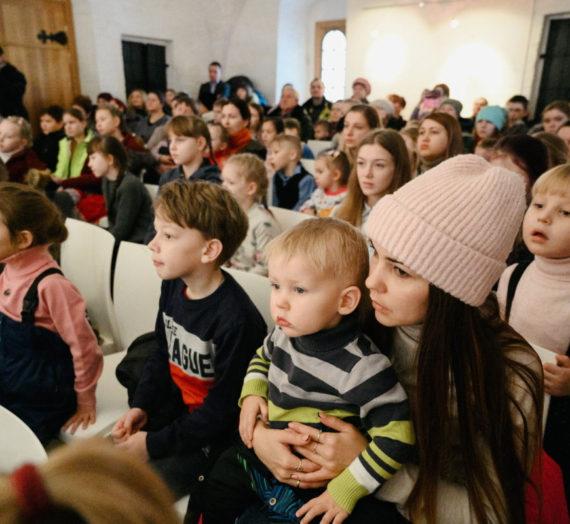 Детский рождественский праздник в Старицкой обители.