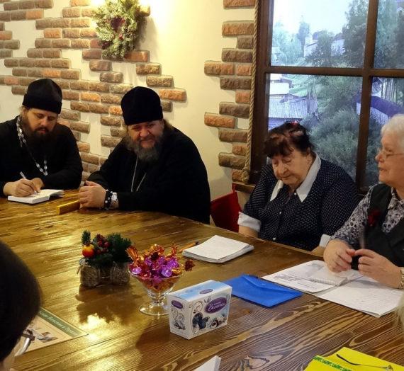 Встреча настоятеля Борисо-Глебского монастыря с экскурсоводами г. Торжка.