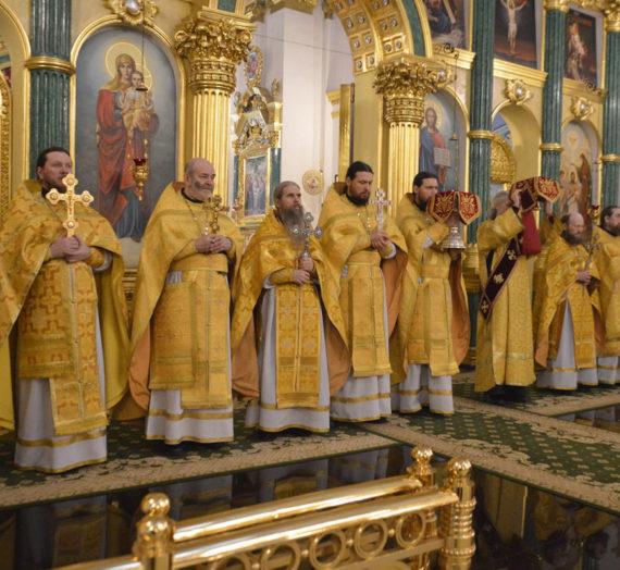 День памяти святителя Нектария, архиепископа Тобольского, игумена Столобенского.