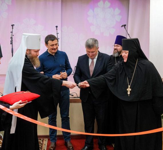 Новые корпуса в монастырском приюте.