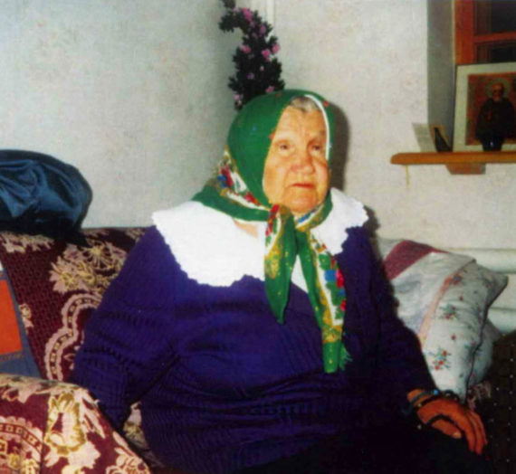 Блаженная схимонахиня Мария. Благодатное удостоверение.
