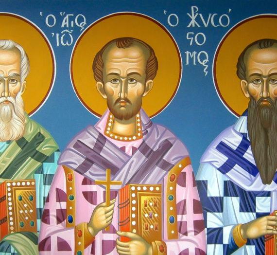 Три великих святителя — покровители тверских деревень Юрьевское и Лисицы.