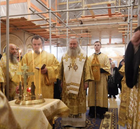 Архиепископ Феогност возглавил престольный праздник в Зачатьевском монастыре.