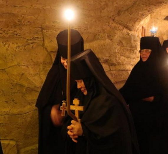 В Зачатьевском монастыре состоялся монашеский постриг.