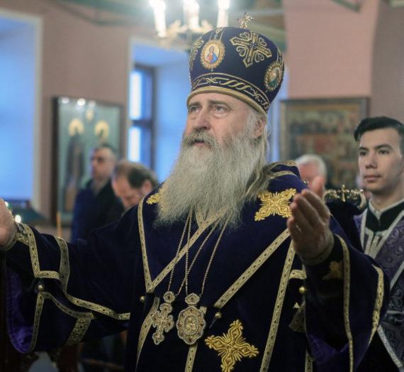 Архиепископ Феогност совершил Литургию в Саввино-Сторожевском монастыре.