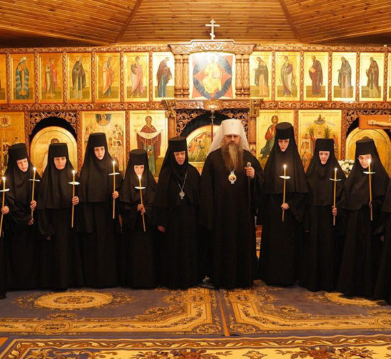 Митрополит Георгий совершил в Дивеевском монастыре иноческие постриги.