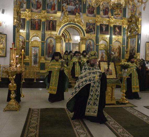 Праздник Входа Господня в Иерусалим.