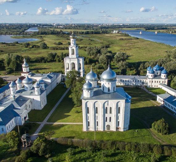 Муравьёв А. Н. Новгородский Юрьев монастырь.