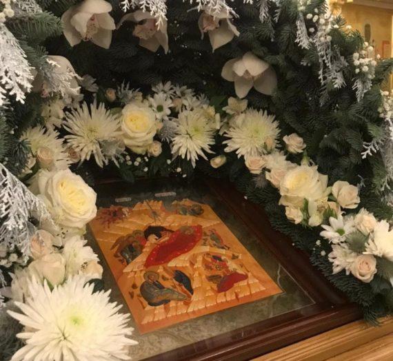 Рождество Христово в Николаевском Клобуковом женском монастыре