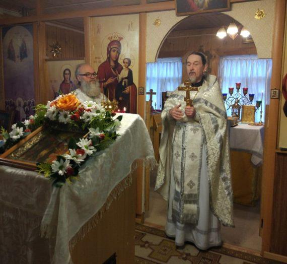 Праздник Святого Богоявления, Крещения Господа Бога и Спаса нашего Иисуса Христа в Ольгинском женском монастыре на истоке реки Волги.