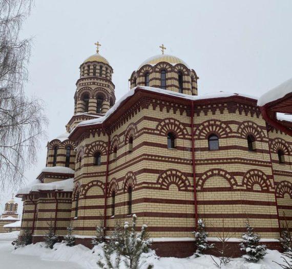 Посещение схиархимандритом Илием Николаевского Малицкого монастыря