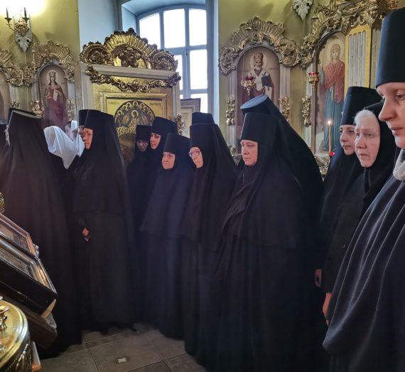 Прощёное воскресенье в Житенном монастыре