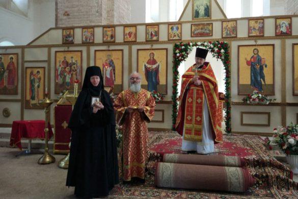 День рождения настоятельницы Ольгинского монастыря игумении Софии