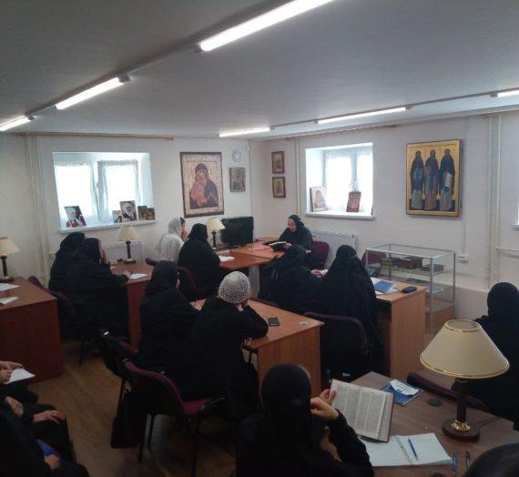 В  Оршине монастыре прошли занятия на богословских курсах для монашествующих