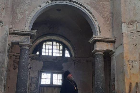 Реставрация Борисоглебского собора в Торжке