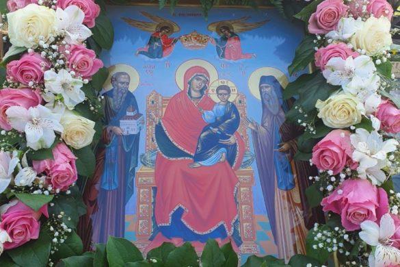 Престольный праздник в скиту Богородицкого Житенного монастыря
