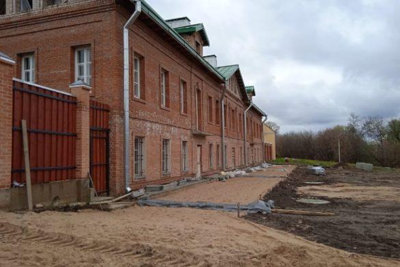 Проведение строительных и ремонтных работ в  Христорождественском монастыре