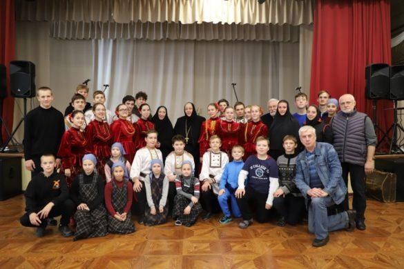 Инокиня Василисса (народная артистка РСФСР Екатерина Васильева) в Богородицком женском монастыре